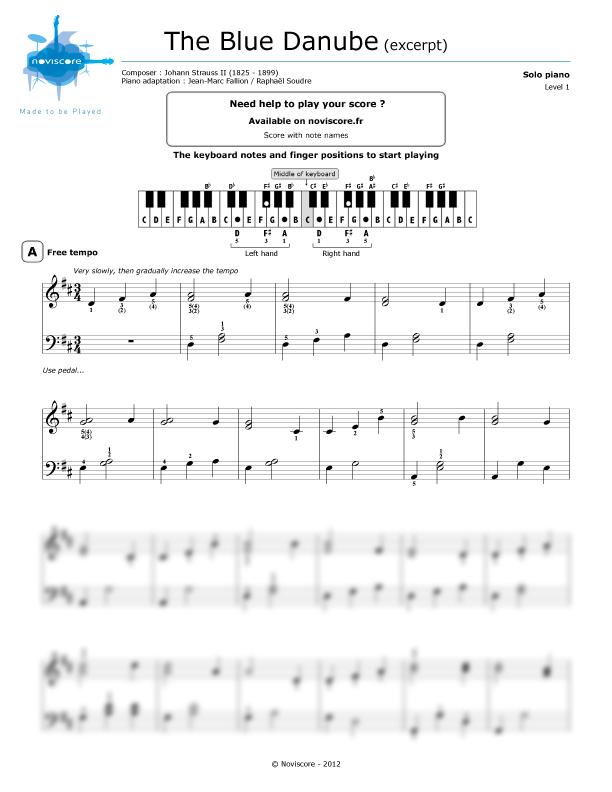 schöne klaviermusik noten