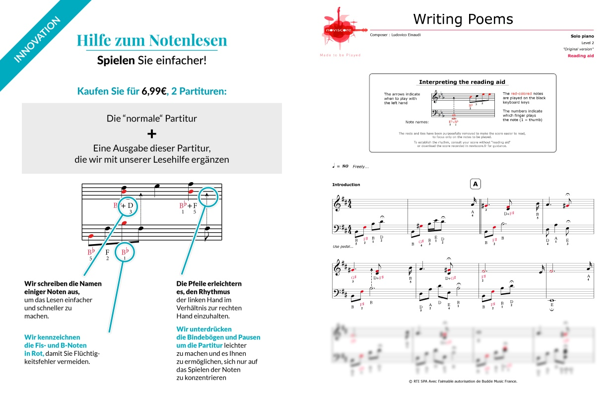 writing poems ludovico einaudi Print and download writing poems sheet music by ludovico einaudi arranged for piano instrumental solo in b minor sku: mn0115211.